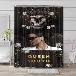 Queen of the South Waterproof Curtain Bathroom Shower