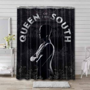 Queen of the South Shower Curtain Bathroom Decoration