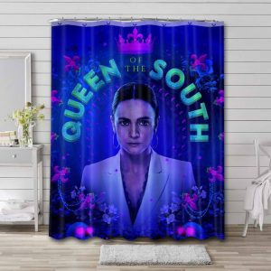 Queen of the South Shower Curtain Waterproof Polyester