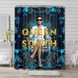 Queen of the South Bathroom Shower Curtain Waterproof
