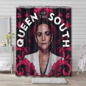 Queen of the South TV Series Bathroom Curtain Shower Waterproof