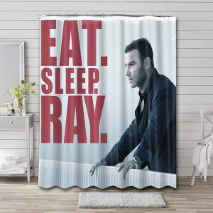 Ray Donovan Shower Curtain Waterproof Polyester