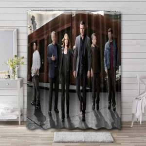Ray Donovan Characters Shower Curtain Waterproof Polyester