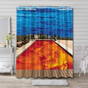 Red Hot Chili Peppers Californication Bathroom Curtain Shower Waterproof