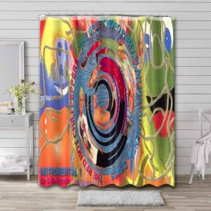 Red Hot Chili Peppers The Uplift Mofo Party Plan Shower Curtain Bathroom Decoration