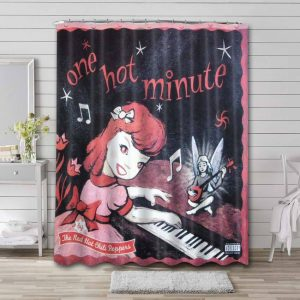 Red Hot Chili Peppers One Hot Minute Waterproof Shower Curtain Bathroom