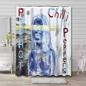 Red Hot Chili Peppers By the Way Waterproof Bathroom Shower Curtain
