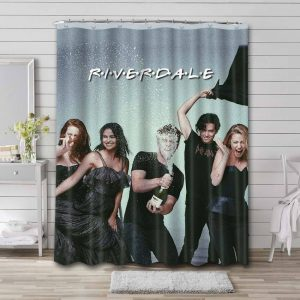 Riverdale Characters Shower Curtain Bathroom Decoration