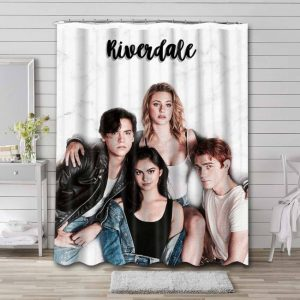 Riverdale Characters Shower Curtain Waterproof Polyester