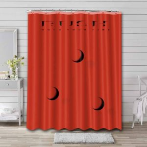 Rush Hold Your Fire Shower Curtain Bathroom Decoration