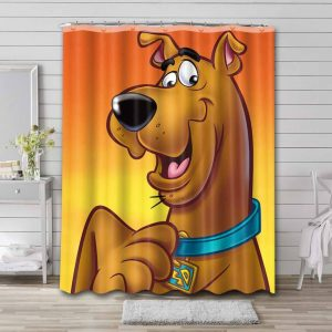 Scooby Doo Shower Curtain Waterproof Polyester