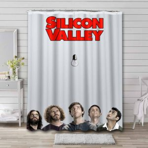 Silicon Valley Shower Curtain