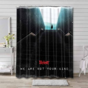 Slipknot We Are Not Your Kind Shower Curtain Bathroom Decoration