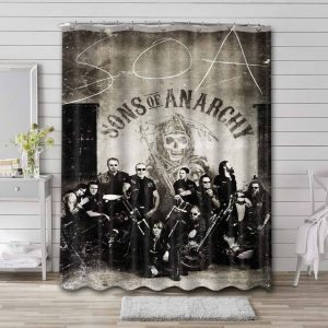 Sons of Anarchy Shower Curtain Waterproof Polyester