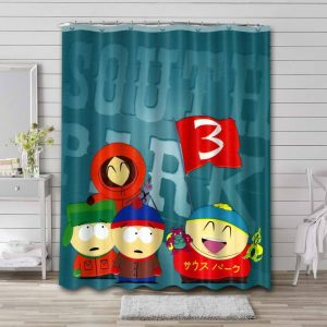 South Park Shows Waterproof Bathroom Shower Curtain