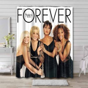 Spice Girls Forever Shower Curtain Waterproof Polyester