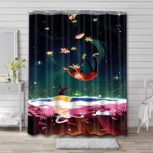 Star vs. the Forces of Evil Shower Curtain Waterproof Polyester