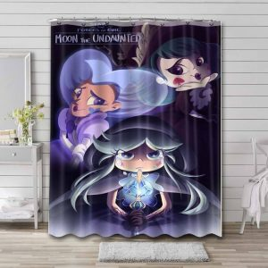 Star vs. the Forces of Evil Show Waterproof Bathroom Shower Curtain