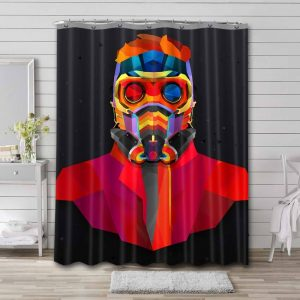 Star-Lord Shower Curtain Bathroom Decoration Waterproof Polyester Fabric.