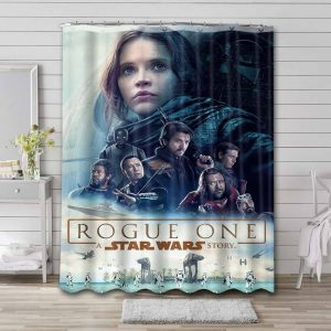 Star Wars Rogue One Shower Curtain Waterproof Polyester