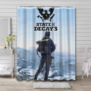 State of Decay Waterproof Shower Curtain Bathroom