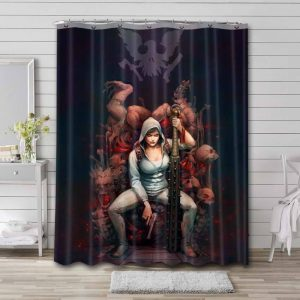 State of Decay Waterproof Bathroom Shower Curtain