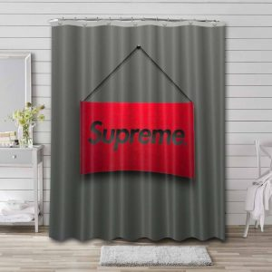 Supreme Shower Curtain Waterproof Polyester