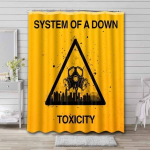 System of a Down Toxicity Waterproof Bathroom Shower Curtain