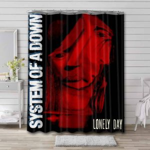 System of a Down Lonely Day Shower Curtain Bathroom Decoration
