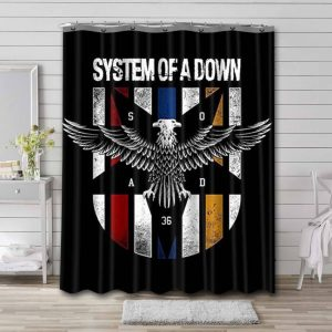System of a Down Waterproof Shower Curtain Bathroom