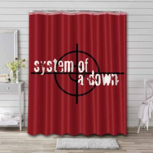 System of a Down Waterproof Bathroom Shower Curtain