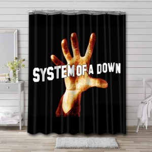 System of a Down 1998 Waterproof Curtain Bathroom Shower