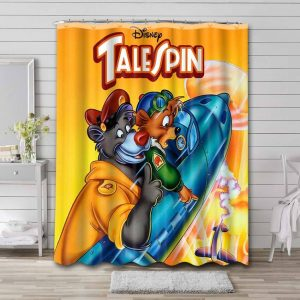 TaleSpin Shower Curtain Waterproof Polyester