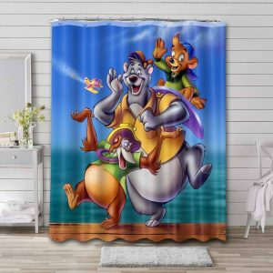 TaleSpin Shower Curtain