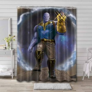 Thanos Shower Curtain Waterproof Polyester