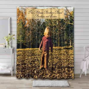 The Allman Brothers Band Rock Brothers And Sisters Bathroom Curtain Shower Waterproof