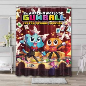 The Amazing World of Gumball After School Special Shower Curtain Bathroom Decoration