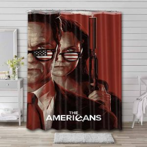 The Americans Shower Curtain