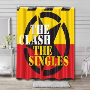 The Clash Shower Curtain