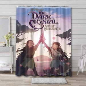 The Dark Crystal Age of Resistance Series Shower Curtain Bathroom Decoration