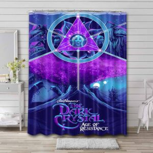 The Dark Crystal Age of Resistance Series Shower Curtain Waterproof Polyester