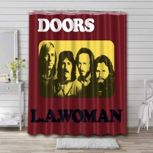 The Doors L.A. Woman Shower Curtain Waterproof Polyester