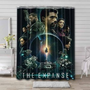 The Expanse TV Series Shower Curtain Waterproof Polyester Fabric