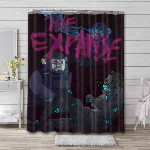 The Expanse Characters Waterproof Shower Curtain Bathroom Decor