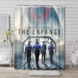 The Expanse Characters Waterproof Bathroom Shower Curtain