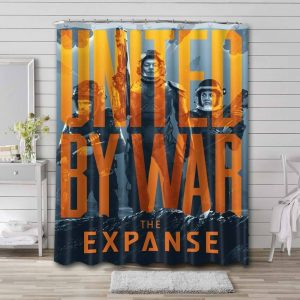 The Expanse Characters Bathroom Curtain Shower Waterproof Fabric