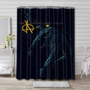 The Expanse Characters Waterproof Curtain Bathroom Shower