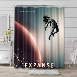 The Expanse Characters Shower Curtain Bathroom Waterproof