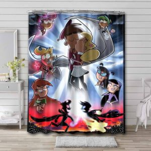 The Fairly OddParents Shower Curtain Waterproof Polyester