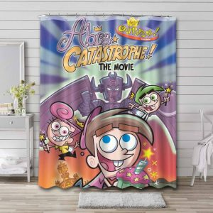 The Fairly OddParents Abra Catastrophe Waterproof Bathroom Shower Curtain
